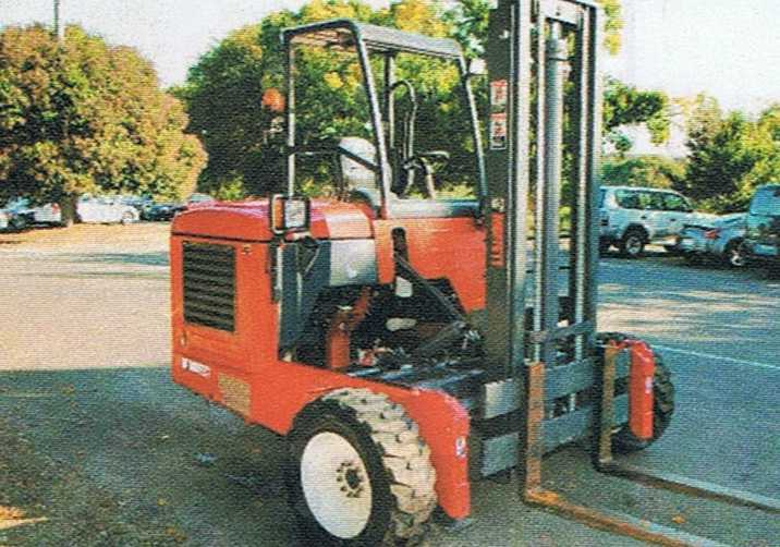 Forklift Moffett M8 for sale Victoria