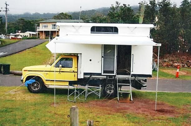 F100 Ute Slide on POP Top Campervan for sale NSW