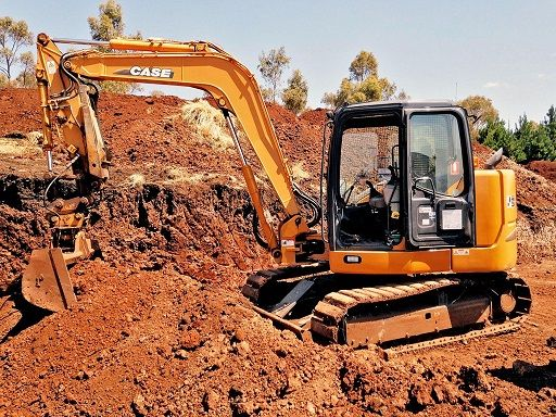 Case CX80 Excavator for sale VIC Darley
