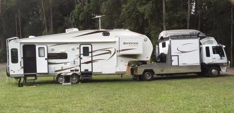 Forest River Rockwood Signature Ultra Light Caravan for sale QLD