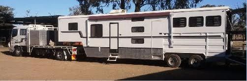 4 Horse Macro Hino Dual Cab & Goose-neck Horse Transport for sale QLD