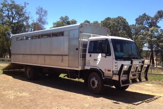 Nissan Truck HD PK220 12 Horse Transport for sale WA