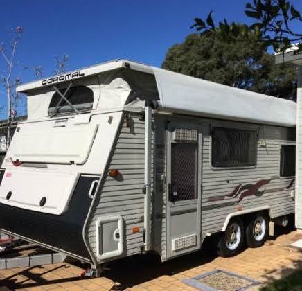 2003 Coromal Seka 535 Poptop Caravan for sale NSW