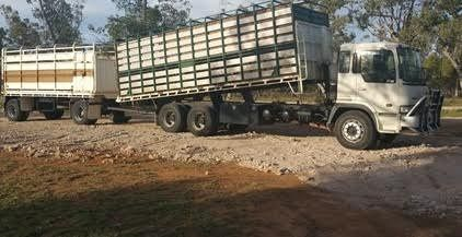 90ab76793d Hino 1997 Truck - Tipper - Dog Trailer Combination for sale QLD