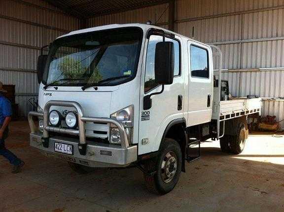 257980e625 Truck for sale QLD Isuzu NPS 300 4x4 Truck