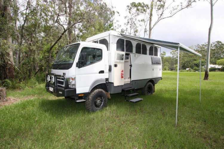 e1f76b9ee7 Motorhome for sale QLD Mitsubishi 2011 LWB Earthcruiser Motorhome